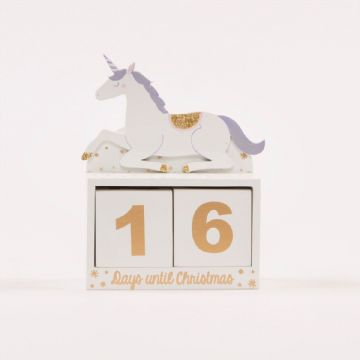 I Love Unicorns  Advent Calendar by Sass & Belle
